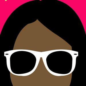 Rosilyn Rayborn logo with sunglasses