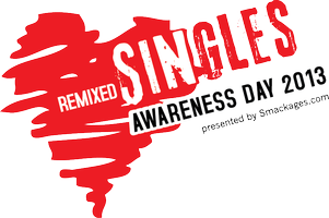 Remixed Singles Awareness Day logo
