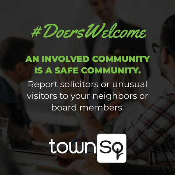 #DoersWelcome TownSq Campaign for Twitter