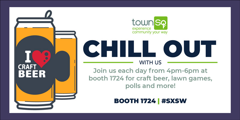TownSq SXSW Craft Beer Social Graphics