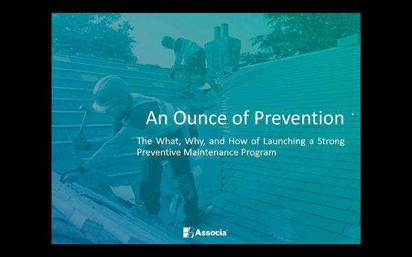 Preventative Maintenance Webinar Video